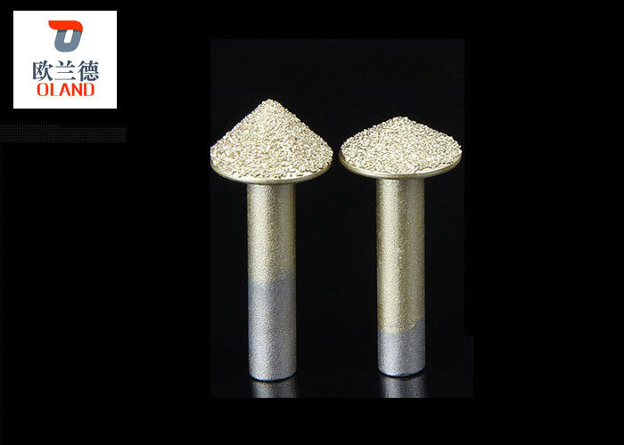 Gold Color Diamond Engraving Tool 3D Stone Router Bit High Efficiency Engraving